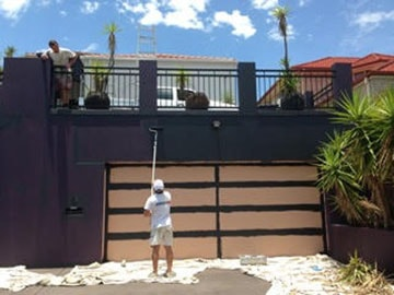 Worldly Painters - Services - Painted House